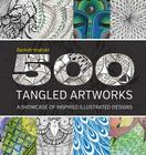 500 Tangled Artworks: A Showcase of Inspired Illustrated Designs Cover Image