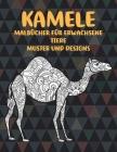 Malbücher für Erwachsene - Muster und Designs - Tiere - Kamele Cover Image
