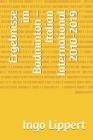 Ergebnisse im Badminton - Italian International 2010-2019 Cover Image