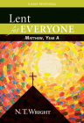 Lent for Everyone: Matthew, Year a: A Daily Devotional Cover Image