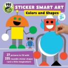 Sticker Smart Art: Colors and Shapes (PBS Kids) Cover Image
