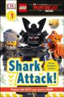 DK Readers L1: The LEGO® NINJAGO® MOVIE : Shark Attack! (DK Readers Level 1) Cover Image