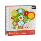 Busy Tree Wooden Twist Puzzle Cover Image