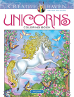 Creative Haven Unicorns Coloring Book (Adult Coloring) Cover Image