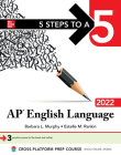 5 Steps to a 5: AP English Language 2022 Cover Image