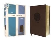 NIV, the Message, Parallel Bible, Leathersoft, Brown: Two Bible Versions Together for Study and Comparison Cover Image