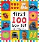 First 100 PB Box Set (5 books): First 100 Words; First 100 Animals; First 100 Trucks and Things That Go; First 100 Numbers; First 100 Colors, ABC, Numbers Cover Image