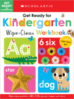 Get Ready for Kindergarten Wipe-Clean Workbook: Scholastic Early Learners (Wipe Clean) Cover Image