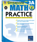 Math Practice, Grade 4: Reviewed and Recommended by Teachers and Parents (Singapore Math Practice) Cover Image