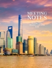 Meeting notes organizer - Meeting Minutes: Secretary Notebook - Logbook Notes Journal -Business Meeting Log - Minute Record and Recap Cover Image