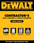Dewalt Contractor's Daily Logbook & Jobsite Reference Cover Image