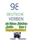 98 Deutsche Verben Mit Präsens, Präteritum .... Cover Image