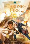 The Throne of Fire: The Graphic Novel (The Kane Chronicles #2) Cover Image
