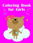 Coloring Book for Girls: Art Beautiful and Unique Design for Baby, Toddlers learning Cover Image