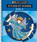 Brain Games - Sticker by Number: Bible (Geometric Stickers) Cover Image