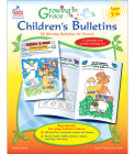 Growing in Grace Children's Bulletins, Ages 3 - 6: 52 Worship Bulletins for Church Cover Image