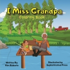 I Miss Grandpa Coloring Book Cover Image