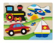 Chunky Jigsaw Puzzle - Vehicles Cover Image