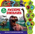 Awesome Dinosaurs: Interactive Children's Sound Book with 10 Buttons Cover Image