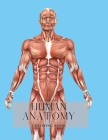Human Anatomy Coloring Book Cover Image