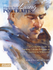 How to Paint Living Portraits Cover Image