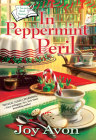 In Peppermint Peril (A Tea and a Read Mystery #1) Cover Image