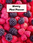 Weekly Meal Planner: meal planner with shopping list 8.5x11 inch with 121 pages Cover Matte Cover Image