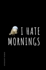 INTROVERT POWER I hate mornings: The secret strengths of INFJ personality Dot Grid Composition Notebook with Funny quote Gift idea for Introverts Cover Image