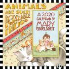 Mary Engelbreit 2020 Mini Wall Calendar: Animals Are Such Agreeable Friends Cover Image