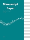 Standard Manuscipt Paper Notebook: Caribe Blue Cover 120 Page 8.5 x 11 Inch 12 Staff Blank Sheet Music Notebook for Music Writing Cover Image