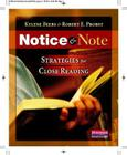 Notice & Note: Strategies for Close Reading Cover Image