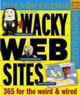 Wacky Web Sites Page-A-Day Calendar 2007 Cover Image