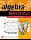 Algebra Demystified Cover Image