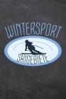 Wintersport Skigebiete: Skiatlas zum Selbstausfüllen für Skifahrer und Snowboarder um den Aufenthalt in einem Skigebiet zu erfassen - Vorgedru Cover Image