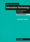 Oxford English for Information Technology Cover Image