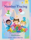 Number Tracing Book for Preschoolers: Trace Numbers Practice Workbook for Pre K, Kindergarten and Kids Ages 3-5, Math Activity Book Cover Image