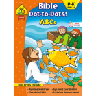 School Zone Bible Dot-To-Dots! ABCs Workbook Cover Image
