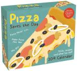 Pizza Saves the Day 2019 Day-to-Day Calendar: Trivia, Recipes, and Other Fun Stuff Cover Image
