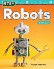 Stem: Robots: 3-D Shapes (Mathematics Readers) Cover Image
