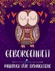Geborgenheit: Malbuch für Erwachsene Cover Image