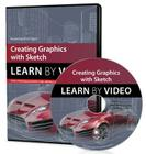 Creating Graphics with Sketch: Learn by Video Cover Image