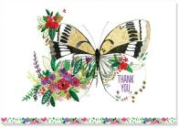 Butterfly Meadow Thank You Notes (Stationery, Note Cards, Boxed Cards) Cover Image