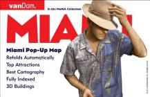 Miami Pop-Up Map by Vandam Cover Image