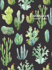 2020-2021 Academic Planner: Large Weekly and Monthly Planner with Inspirational Quotes and Beautiful Cactus Cover (Hardcover) Cover Image