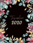 Tagesplaner 2020: Buchkalender in A4 - Kalender für Frauen / Männer Cover Image