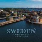 Sweden Calendar 2021: 16 Month Calendar Cover Image