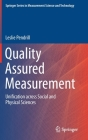 Quality Assured Measurement: Unification Across Social and Physical Sciences Cover Image