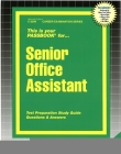 Senior Office Assistant: Passbooks Study Guide (Career Examination Series) Cover Image