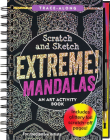 Scratch & Sketch Extreme Mandalas (Trace Along) Cover Image