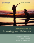 Introduction to Learning and Behavior (Mindtap Course List) Cover Image